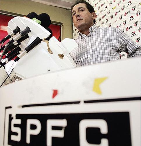 Muricy Ramalho é apresentado como novo técnico do São Paulo