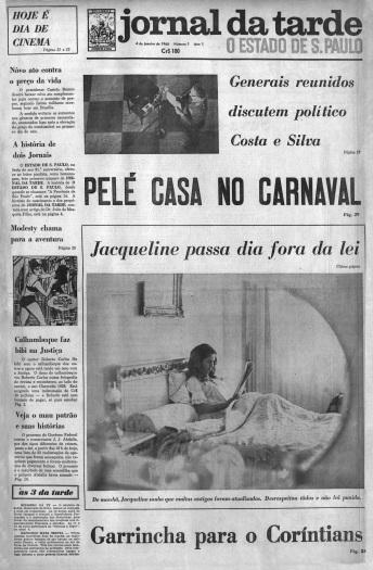 Primeira edição do Jornal da Tarde é publicada