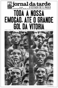 Depois da vitória sobre a Inglaterra, na Copa de 1970