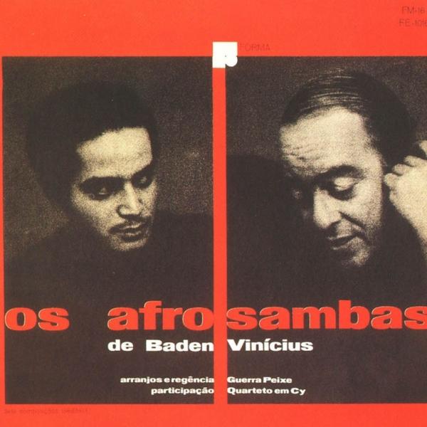 Vinicius e Baden terminam a gravação de Os Afro-Sambas