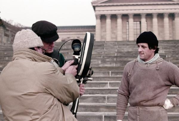 "Sylvester Stallone começa a filmar ""Rocky"""