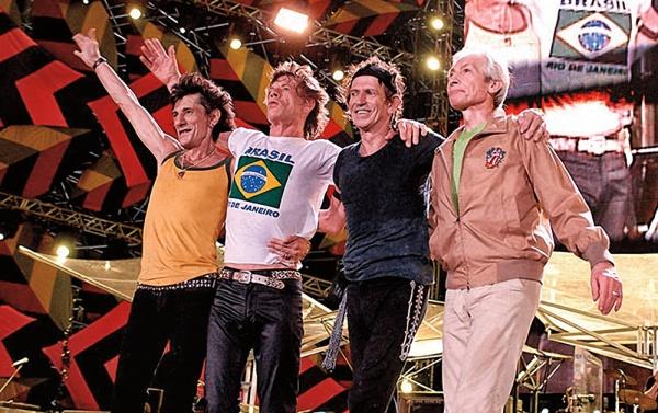 O histórico show dos Rolling Stones em Copacabana