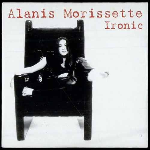 "Alanis Morissette lança o single ""Ironic"""