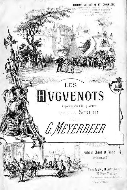 """Ópera """"Les Huguenots"""" estreia em Paris"""