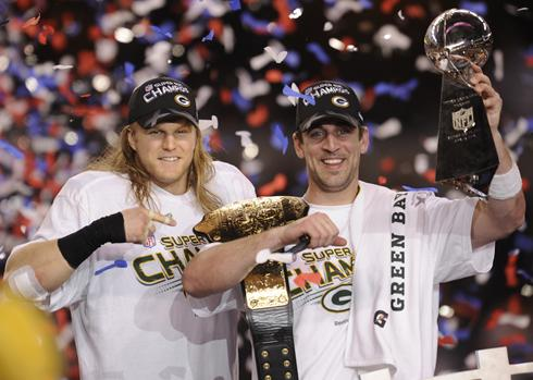 No encontro de gigantes, Packers vencem o Super Bowl XLV