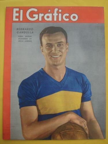 Na capa da revista El Gráfico