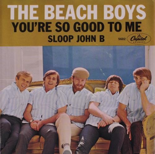 "Beach Boys lançam o single ""Sloop John B"""