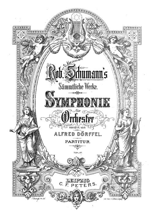 """""""Sinfonia nº 1"""", de Schumann, estreia em Leipzig"""