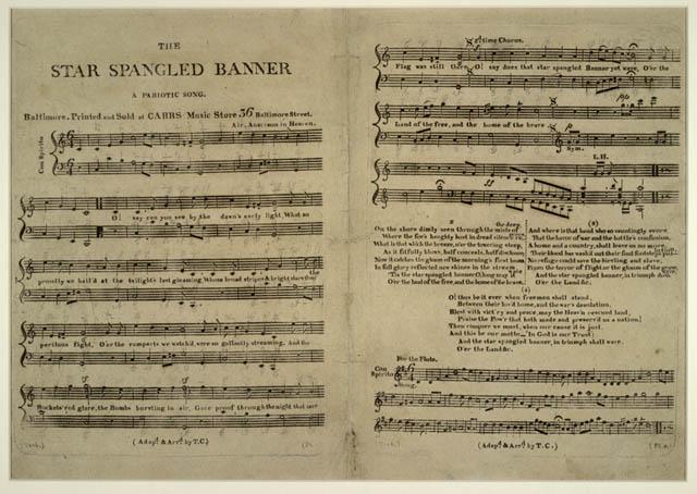 """""""The Star-Spangled Banner"""" se torna o hino oficial dos EUA"""