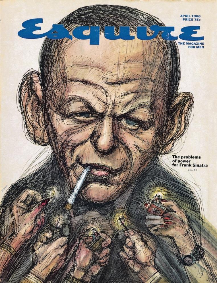 """""""Frank Sinatra Has a Cold"""", de Gay Talese, é publicada na Esquire"""