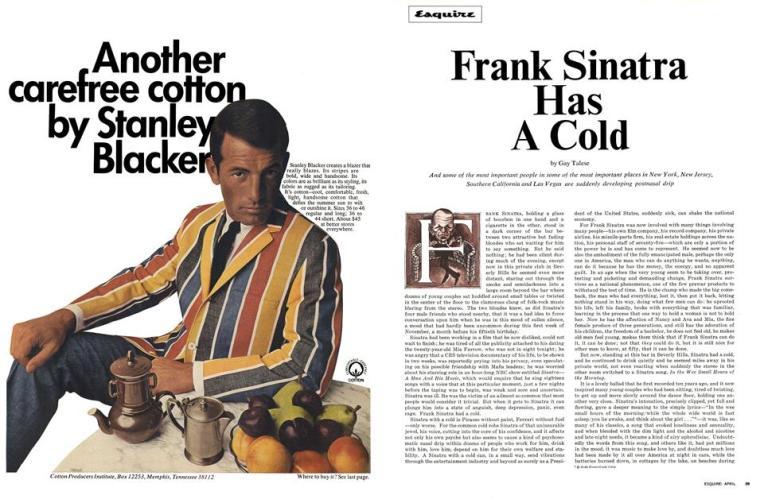 Abertura da reportagem na Esquire de abril de 1966