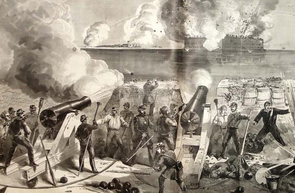 Começa a Guerra Civil Americana