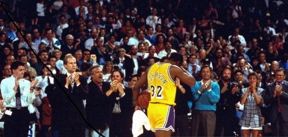 Magic Johnson se torna o recordista de assistências da NBA