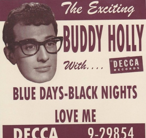 Buddy Holly lança o primeiro single