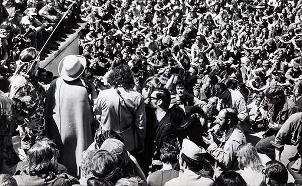 Veteranos iniciam protestos contra a Guerra do Vietnã