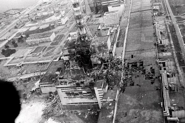 O acidente nuclear de Chernobyl