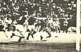 O último gol de Zico pela seleção brasileira