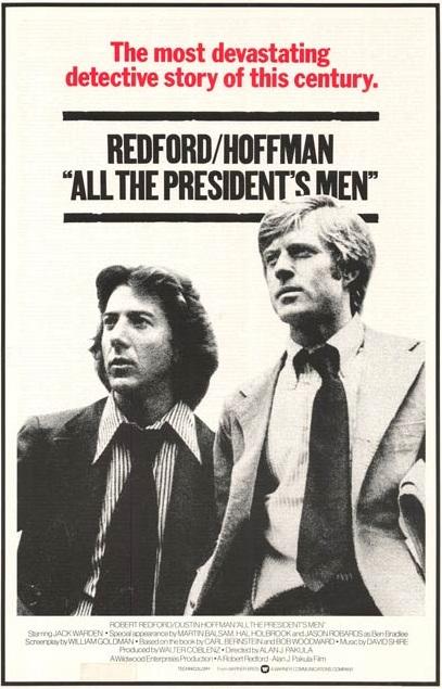 """""""Todos os Homens do Presidente"""" estreia nos EUA"""