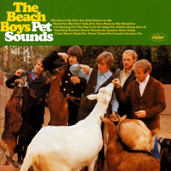 Beach Boys lançam o álbum Pet Sounds
