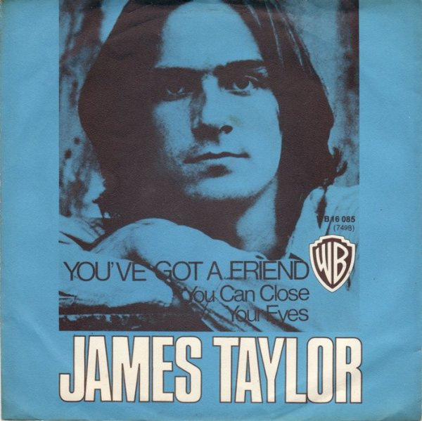 "James Taylor lança ""You've Got a Friend"""
