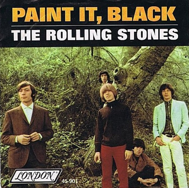 "Rolling Stones lançam o single ""Paint it Black"" nos EUA"