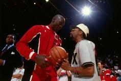 Jordan e Spike Lee