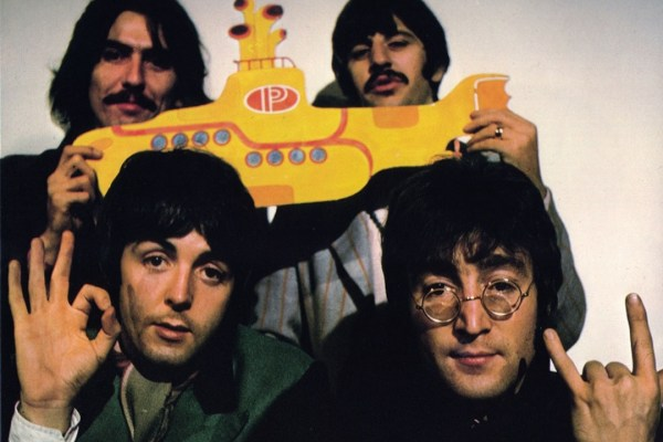 "Beatles finalizam ""Yellow Submarine"""
