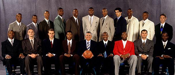 O segundo melhor draft da História da NBA