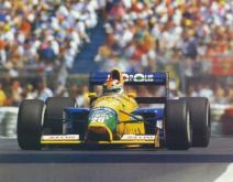 A Benetton tubarão de Piquet