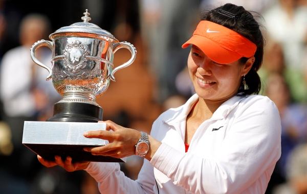 Na Li se torna 1ª asiática a vencer um Grand Slam
