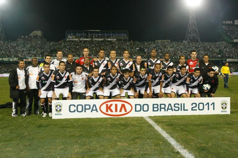 Vasco é campeão da Copa do Brasil