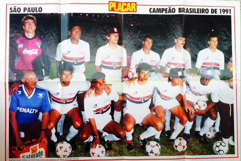 São Paulo é tricampeão brasileiro