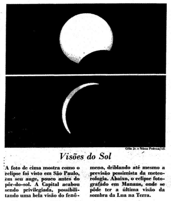 Maior eclipse solar do milênio é visto na América