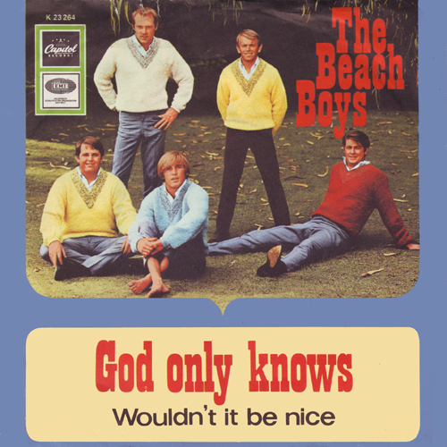 "Beach Boys lançam single com ""Wouldn't It Be Nice"" e ""God Only Knows"""