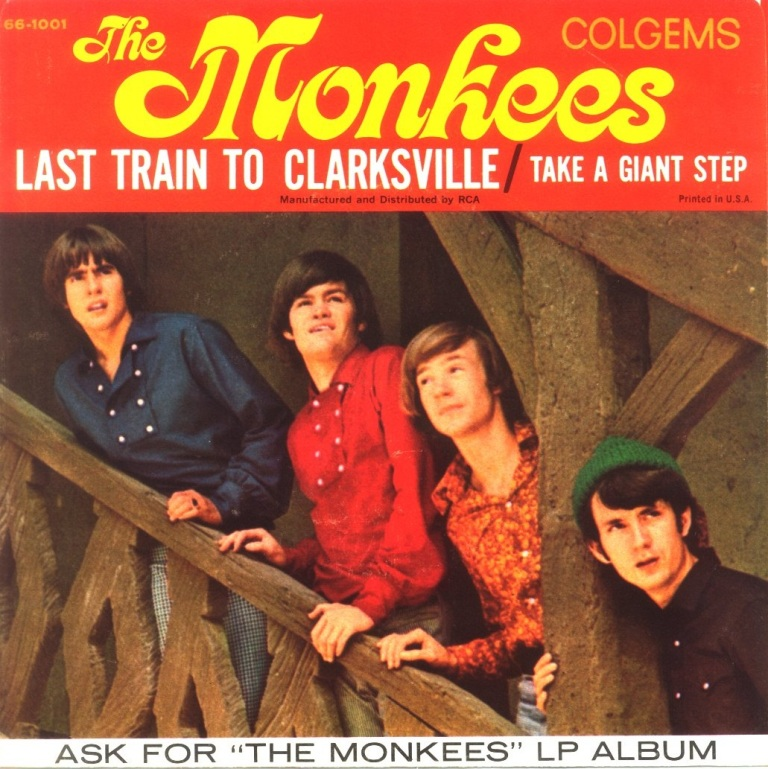 "The Monkees lançam ""Last Train To Clarksville"", o primeiro single"