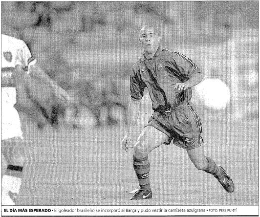 Foto de Ronaldo no Mundo Deportivo