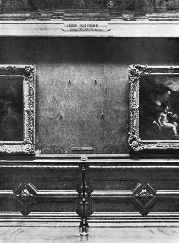 "Mona Lisa"" é roubada do Museu do Louvre"