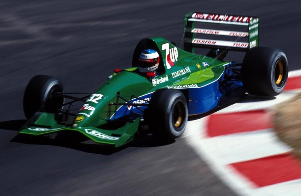 Michael Schumacher estreia na Fórmula 1