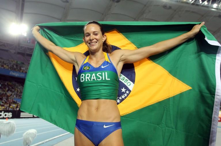 Fabiana Murer conquista 1º ouro do Brasil em Mundiais de atletismo