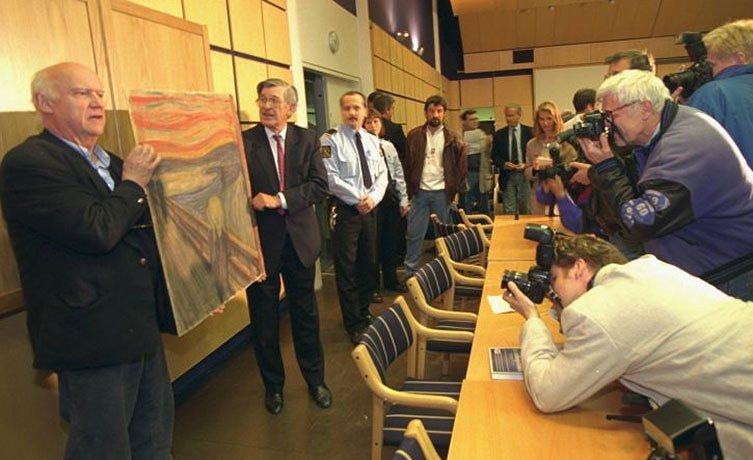 """""""O Grito"""", de Edvard Munch, é recuperado na Noruega"""