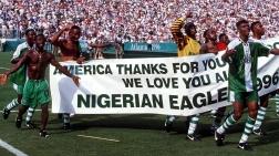 Faixa de agradecimento aos anfitriões americanos