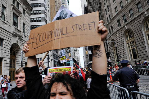 Movimento Occupy Wall Street realiza o 1º ato em Nova York