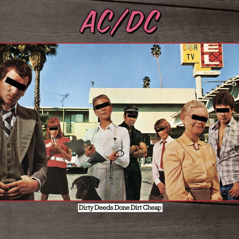 AC/DC lança Dirty Deeds Done Dirt Cheap na Austrália