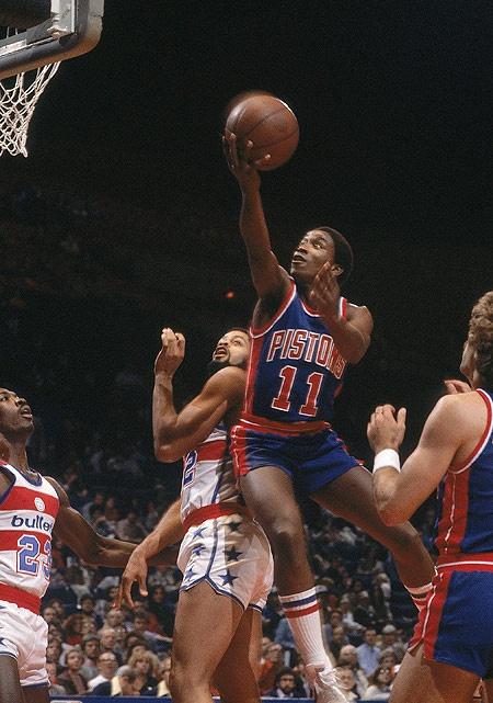 Isiah Thomas estreia na NBA