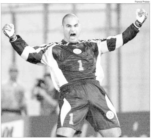 O último gol de Chilavert pelo Paraguai