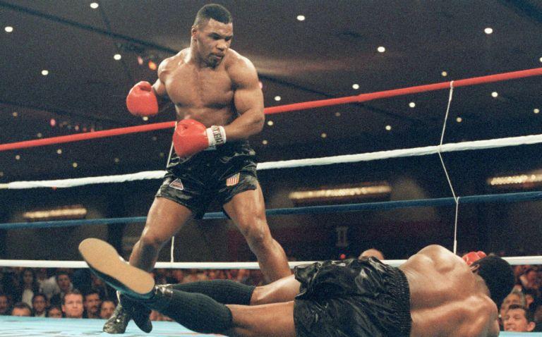 Mike Tyson, o mais jovem campeão dos pesos pesados