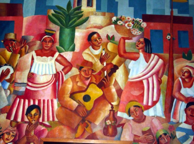 Samba, de Di Cavalcanti