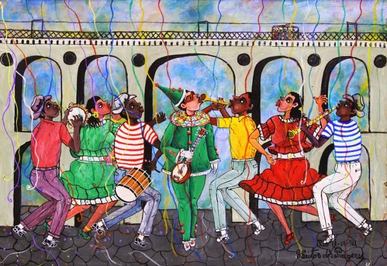 """""""Carnaval nos Arcos da Lapa"""", de Heitor dos Prazeres"""