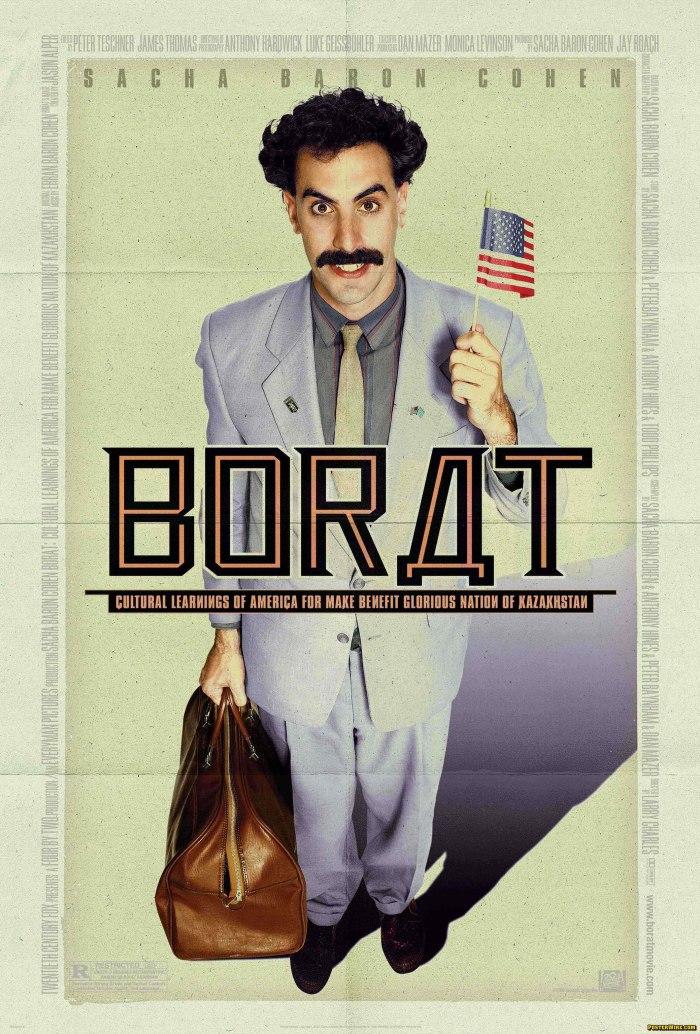 """""""Borat"""" estreia em Israel"""