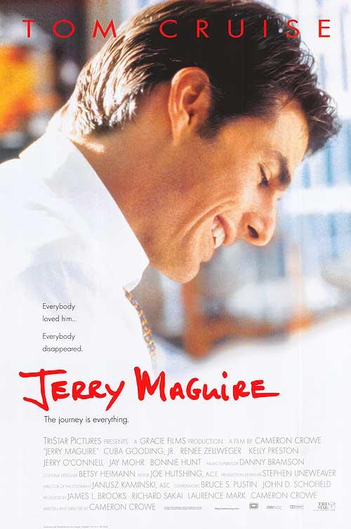"""""""Jerry Maguire"""" estreia nos EUA e Canadá"""